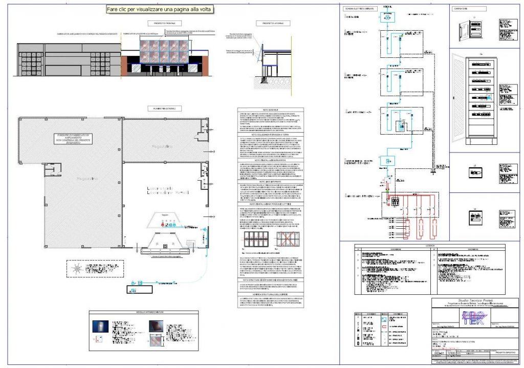 Schemi Elettrici Fotovoltaico : Impianto fotovoltaico con caratteristiche innovative